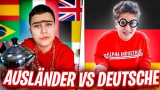 AUSLÄNDER vs DEUTSCHE (typisch DEUTSCH TÜRKISCH) lustigstes Video 😂 | CRASHBROS2