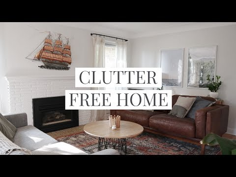 14 Clutter-Free Home Tips & Habits