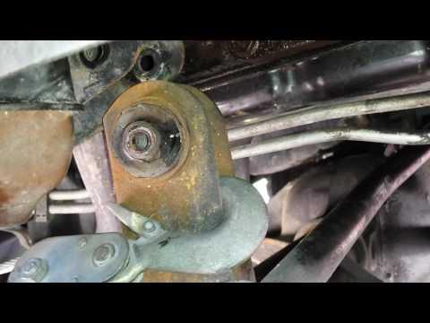 99 WJ grand cherokee upper control arm bushing install part 1