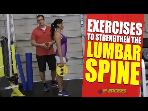 Exercises to Strengthen the Lumbar Spine