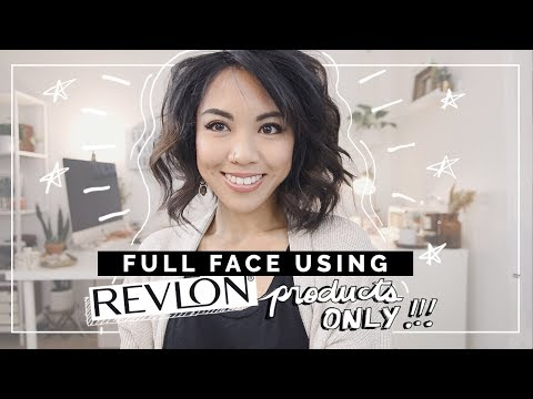 Full Face Using Revlon Products Only! | Simple Makeup Look for Beginners | beautybitten