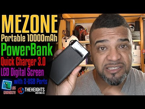 MEZONE Portable PowerBank 10000mAh 🔌 : LGTV Review