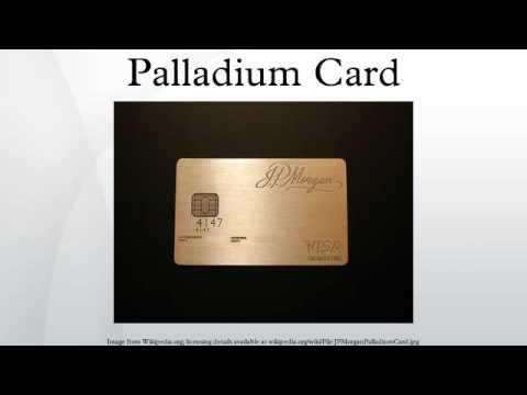 Palladium Card