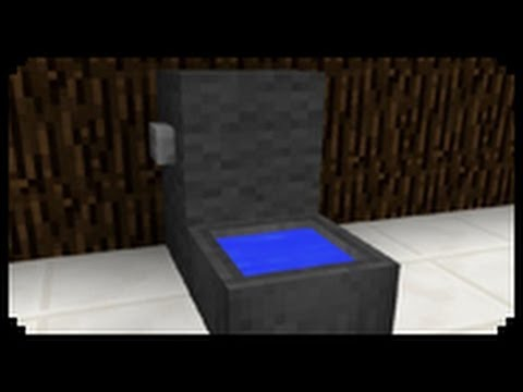 ✔ Minecraft: How to make a Toilet
