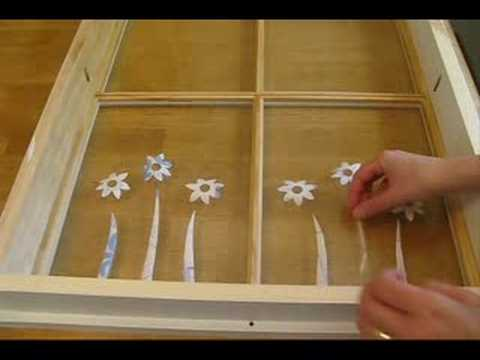 How To Turn An Old Window Into Illuminated Wall Art