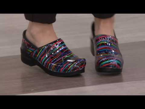 Dansko Professional Leather Slip-On Clogs on QVC