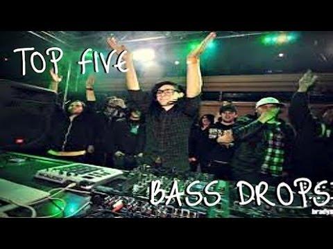 SKRILLEX BASS DROPS -TOP FIVE!