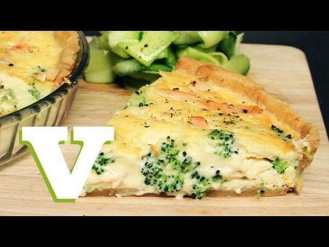 Salmon And Broccoli Quiche: The Tasty Tenner