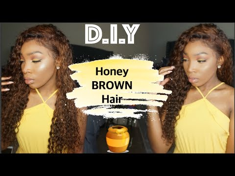 DIY Honey (Light) Brown Hair | VIP Beauty Hair | Aliexpress