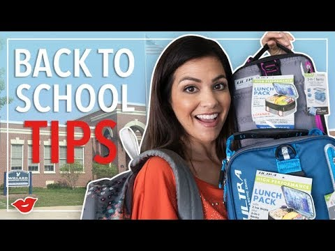 Back To School Tips! | Kimberly from Millennial Moms