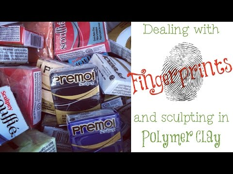 Q&A: Dealing with Fingerprints in Polymer Clay When Sculpting