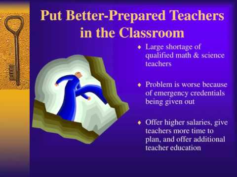 Solving Problems in Math and Science Education