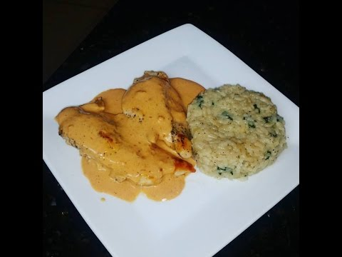 Chicken With Cream Of Chipotle