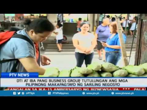 DTI at iba pang business group, tutulungan ang mga Pilipinong makapagtayo ng sariling negosyo