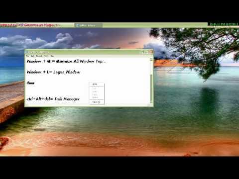 Windows Xp Shortcut Keys