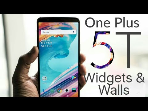 Get One Plus 5 T Widgets/Wallpapers/Icons On Any Android