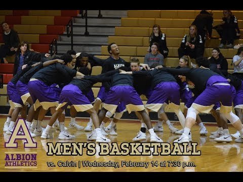 NCAA Men's Basketball - Calvin College vs. Albion College