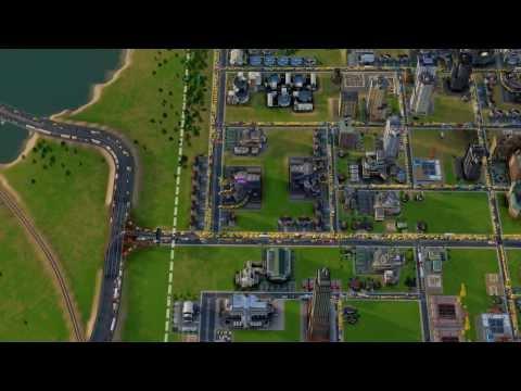 SimCity 2013 Traffic Jams