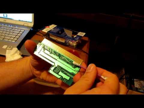 NES Cartridge vs. Rubbing Alcohol Test part 2