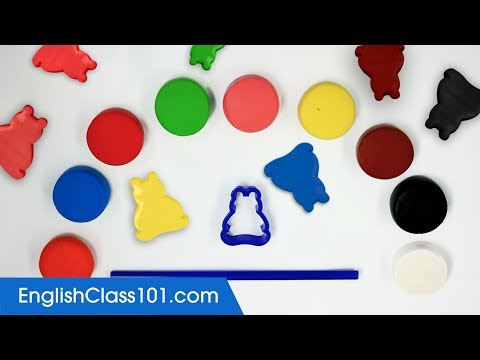 How To Make Colors Foam Clay Bears Toy DIY Learn English Color