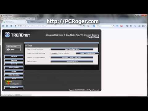TRENDnet IP Camera Default Username and Password