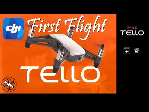 Ryze / DJI Tello - Unboxed and First Flight