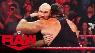 Tyson Fury makes a huge impact in WWE: Raw, Oct. 14, 2019