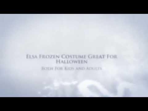 Elsa Frozen Costume For Halloween