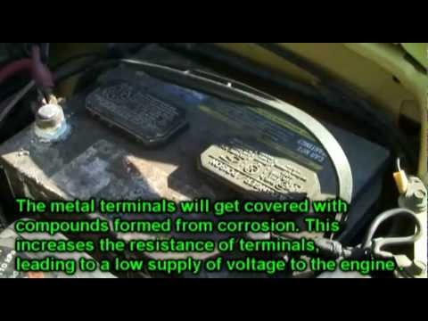 Car Won't Start? Corroded Battery Terminal or High Maintenance Girlfriend ?
