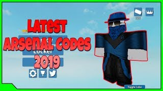 ALL *WORKING* CODES IN ROBLOX ARSENAL 2019! Videos - 9tube tv