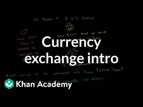 Currency Exchange Introduction