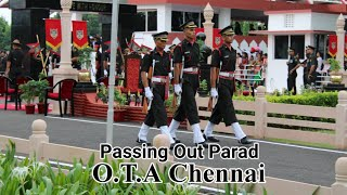 Part-1 Officers Training Academy. Passing Out Parade OF an Indian Army Officer. O.T.A Chennai 2019