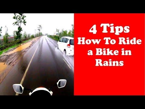 4 tips how to ride a bike during rainy season!