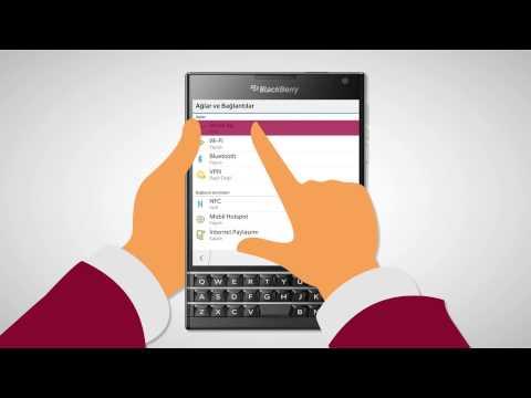 BlackBerry üçün internetin ayarlanması