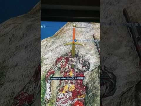Found a Excalibur on an island in dying light