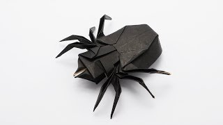 Origami Spider 🕷🕸 (traditional   Jo Nakashima) - Halloween