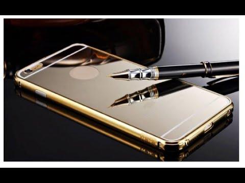 iPhone 6 Plus: Sankuwen Ultra-thin Luxury Aluminum Metal Mirror Case