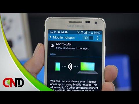 Cara Mengganti Nama & Password Hotspot Android