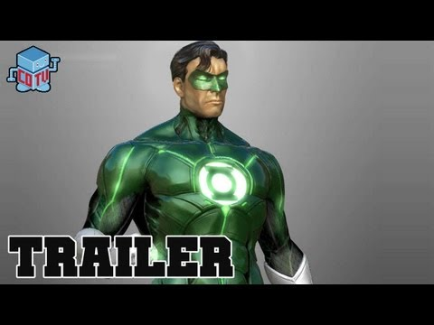 Injustice Gods Among Us GREEN LANTERN Official Trailer