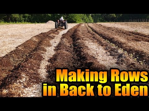 Making Rows in Back to Eden