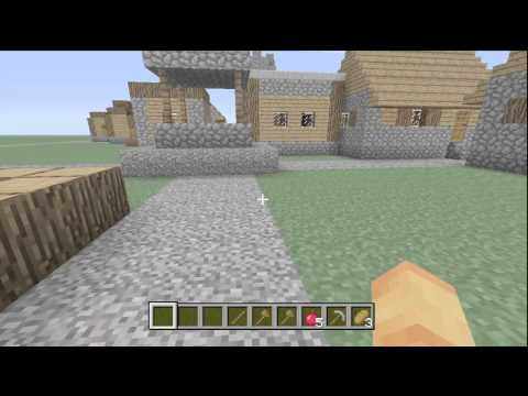 Minecraft Xbox 360 Edition Update! Creative Mode,villages,sprinting,new items and much more!
