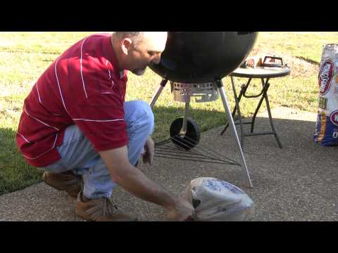 Trick to Emptying the Ashes on Weber Charcoal Grill
