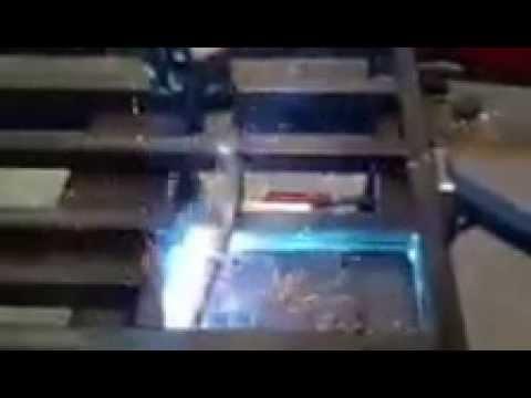 Robotic Welding Steel door frame