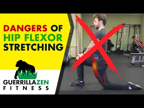DANGERS of Stretching the Hip Flexors! | DON'T DO THIS!