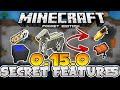 TOP SECRET FEATURES in 0.15.0!! // Secret Hidden Tricks in MCPE - MInecraft PE (Pocket Edition)