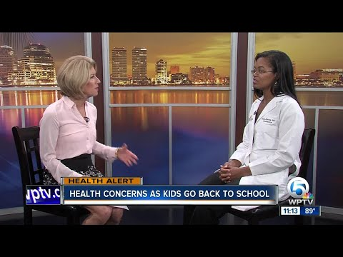 Keep your child from getting sick as they head back to school