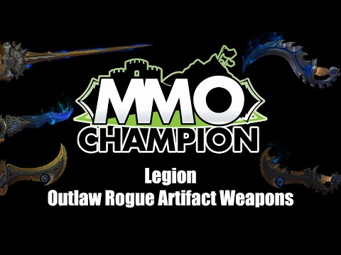 Legion Beta - Outlaw Rogue Artifact Weapons