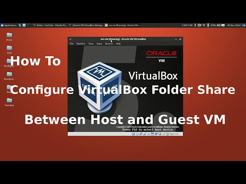 Virtualbox folder Sharing between Host and Guest