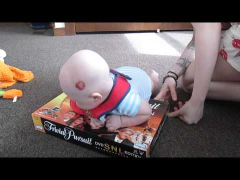 Teaching A Four Month Old To Crawl