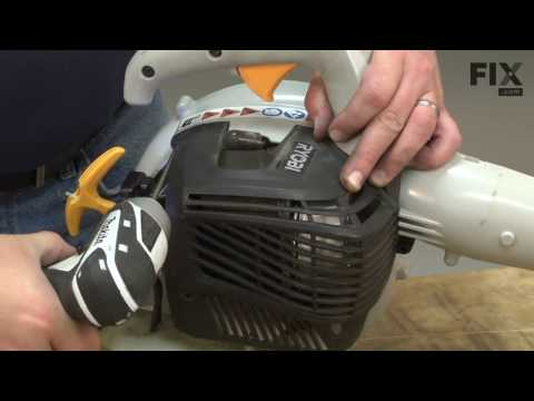 Ryobi Handheld Gas Blower Repair - How to Replace the Ignition Module